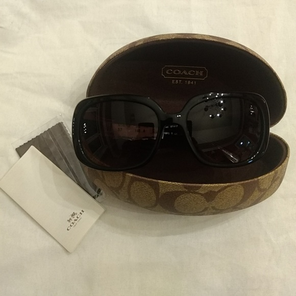 07ff73a464 Coach Accessories - Coach sunglasses 8178 Asian Fit
